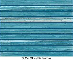 Blue wood texture background. Vecto