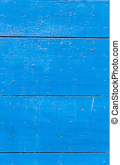 blue wooden background gives a harmonic pattern