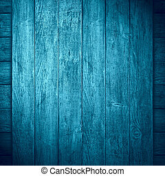 blue wooden background or color planks turquoise texture