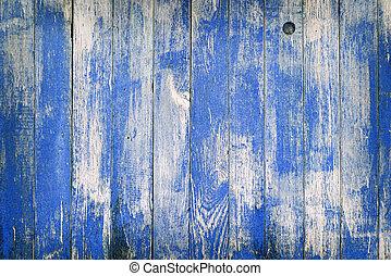 blue wooden background