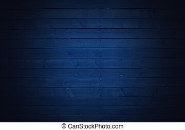 blue wooden fence background