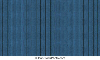 Blue wooden seamless planks panoramic texture for background.