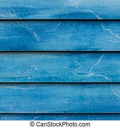 Blue Wooden wall