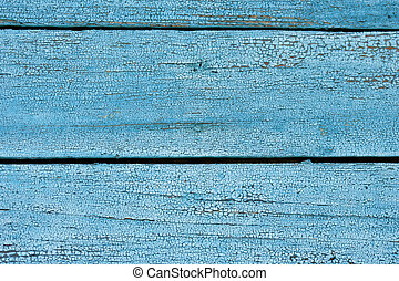 Blue wooden wall close-up, may be used as background