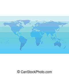 World map blue design tech background with world map eps clip blue world map vector gumiabroncs Images