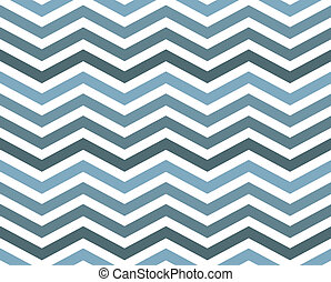 Blue Zigzag Pattern Background that is seamless and repeats