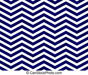 Blue Zigzag Textured Fabric Background that is seamless and...