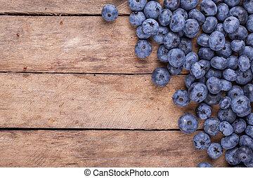 blueberries, 익은