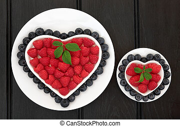 Blueberry and Raspberry Super Food
