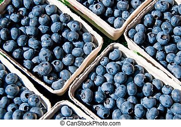 blueberry at a street sale