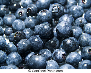 Blueberry Background - the power of fruit