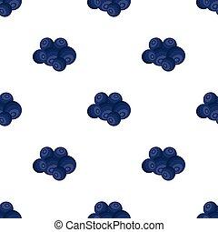 Blueberry berries, sweet fruit. Fruit single icon in cartoon style vector symbol stock illustration web.