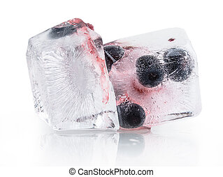blueberry berry ice