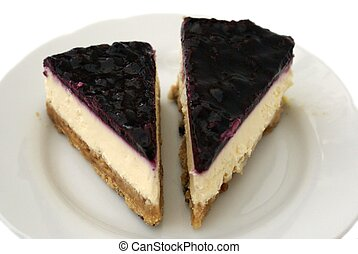 blueberry cheesecake - dessert
