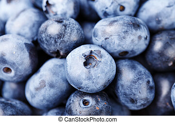 Blueberry close-up background