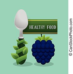blueberry healthy food diet