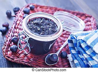 blueberry jam