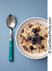 Blueberry muesli