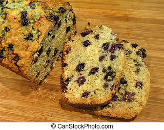 Blueberry Oatmeal Bread 1