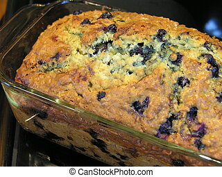 Blueberry Oatmeal Bread 10