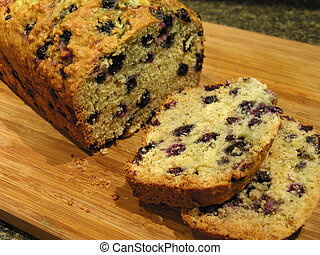 Blueberry Oatmeal Bread 3