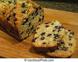 Blueberry Oatmeal Bread 4