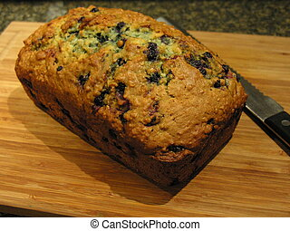 Blueberry Oatmeal Bread 5