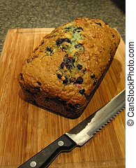 Blueberry Oatmeal Bread 6