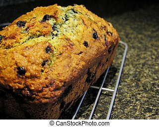 Blueberry Oatmeal Bread 7