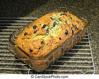 Blueberry Oatmeal Bread 9