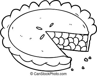 blueberry pie cartoon