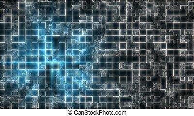 Blue/Grey grid