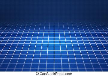 Blueprint 3D Background