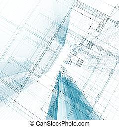blueprint, arquitetura