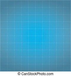 Blueprint Background - Blueprint background, vector eps10...