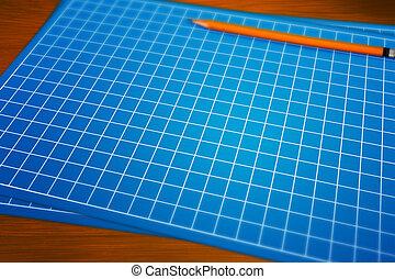 Blueprint Background Image