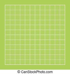 Blueprint background. Vector illustration. Green color