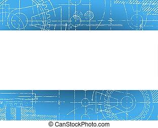 blueprint, bandeira