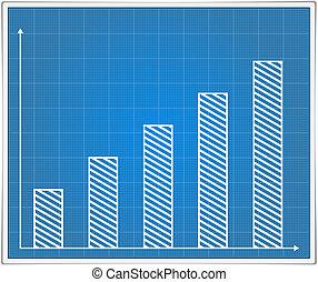 Blueprint bar graph