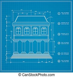 Blueprint facility and  engineering printout home