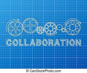 blueprint, colaboração