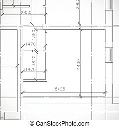 Blueprint fragment architecture background