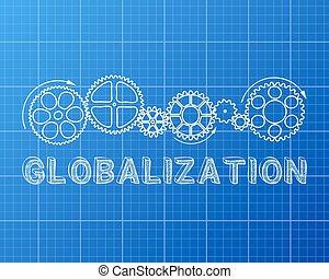 blueprint, globalização
