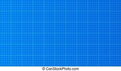 Blueprint horizontal paper background texture vector illustration