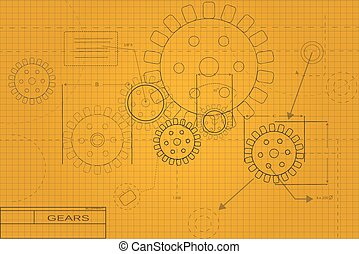 Blueprint Illustration