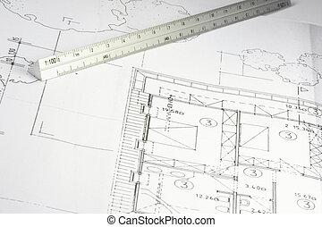 blueprint of a building 04