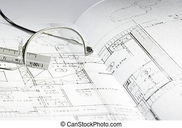 blueprint of a building 06
