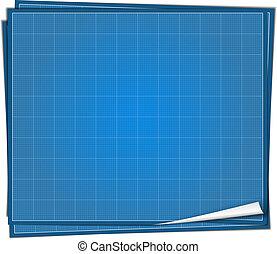Blueprint paper vector eps10 illustration vectors search clip art blueprint paper malvernweather Images