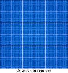 blueprint, seamless, fundo