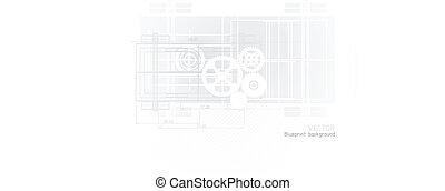 blueprint, tecnologia